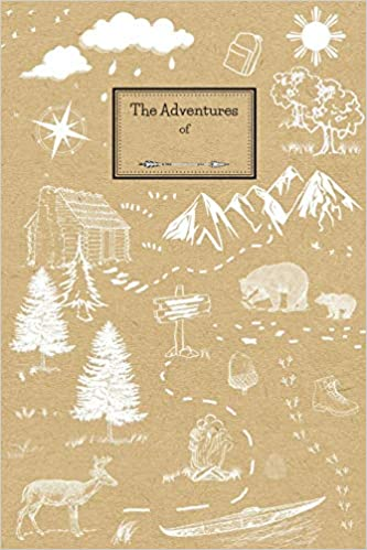 The Adventures of: Kids Hiking Journal with Prompts, Space to Draw