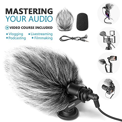 Neewer CM14 Universal Video Microphone with Shock Mount