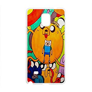 Aadventure time Case Cover For samsung galaxy Note4 Case