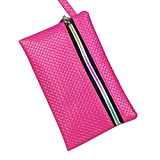 Pocciol Women Love Bags, Women Long Clutch Wallet PU Leathd Fashion Holder Bag (F)