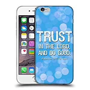 """Super Galaxy Coque de Protection TPU Silicone Case pour // V00000358 Biblia: La confianza en el Señor // Apple iPhone 6 6S 6G PLUS 5.5"""""""