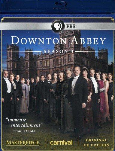 Masterpiece: Downton Abbey Season 3 (U.K. Edition) [Blu-ray]