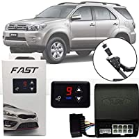 Módulo de Aceleração Sprint Booster Tury Plug and Play Toyota Hilux Sw4 2006 07 08 09 10 11 12 13 14 15 FAST 1.0 D