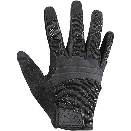 YOSUNPING Full Dexterity Tactical Gloves Touch Screen Airsoft Paintball Military Army Shooting Work Protection Guard Gear Full Finger Gloves Black L