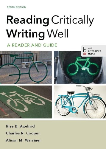 Reading Critically, Writing Well Pdf