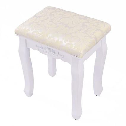 Amazon.com: Makeup Vanity Chair Luxury Women Hair Makeup Bench Girl ...