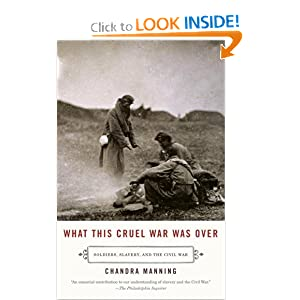 What This Cruel War Was Over: Soldiers, Slavery, and the Civil War (Vintage) Chandra Manning