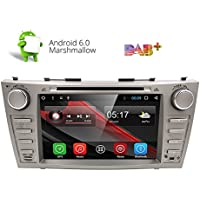 HIZPO 8 Android 6.0 HD Digital Multi-touch Screen 1080P Car DVD Player Custom Fit for Toyota Camry 2007 2008 2009 2010 2011