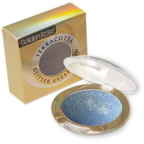 Terracotta Glitter Eye Shadow 201 Baby Blue