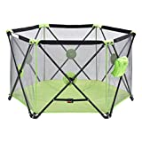 Green Baby Play Pen Playard Portable Folding Outdoor Indoor Safety Free Standing