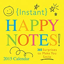 2015 Instant Happy Notes Boxed Calendar