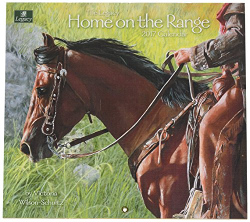 Legacy Publishing Group 2017 Wall Calendar, Home on the Range