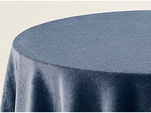 Falda para Mesa Camilla Modelo Deluxe 793, Color Azul 707, Medida Redonda 70/213cm Ø (También Disponible en Distintos Colores, Formas y Medidas): Amazon.es: Hogar
