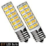 [2-Pack] Ceramic E17 LED Bulb for Microwave Oven Appliance,75W...