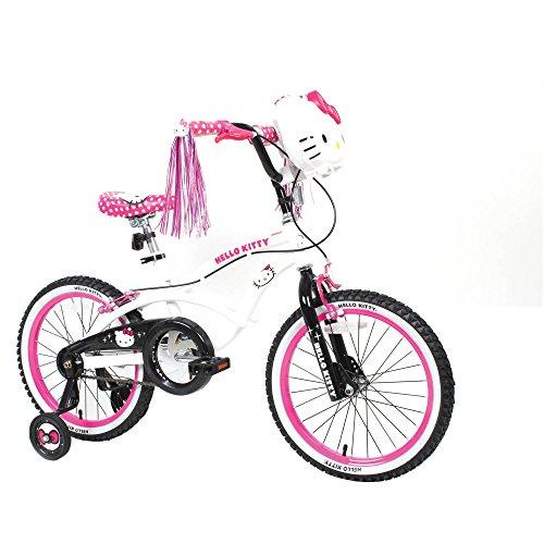 18'' Hello Kitty Girls' Sidewalk Bike, White by Generic