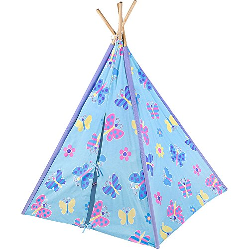 Wildkin Canvas Play Tent, Butterfly - Tent Play Butterfly