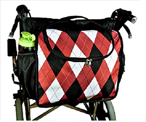 Wheelchair Back Pack, Wheelchair Bag, Wheelchair Carry Tote, Wheelchair Storage Bag, Large But Light Weight, Attractive Pattern, Unidex ()