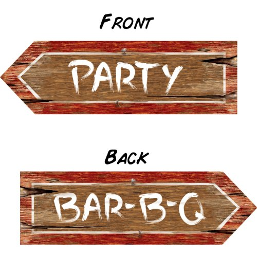 Redneck Party Sign Party Accessory (1 count)