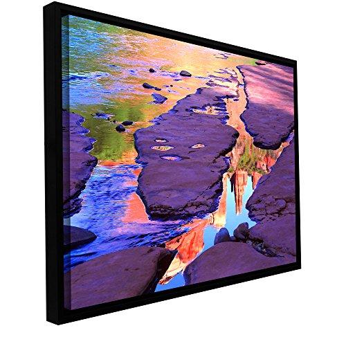 ArtWall Dean Uhlinger Oak Creek Mirror Floater Framed for sale  Delivered anywhere in Canada