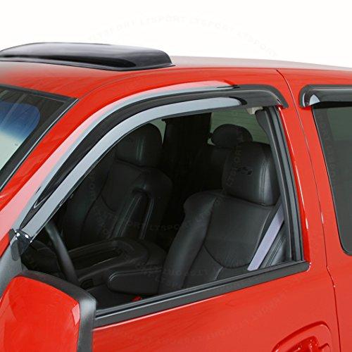 LT Sport SN#100000000524-0296-201 Fit 95-05 Chevrolet Blazer Side Window Visor Rain Guard + Moonroof Vent