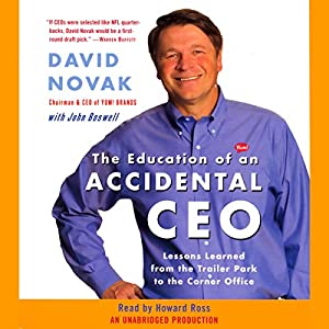 The Education of an Accidental CEO Hörbuch