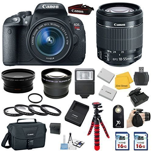 Canon EOS Rebel T5i DSLR Camera with EF-S 18-55mm IS STM Len