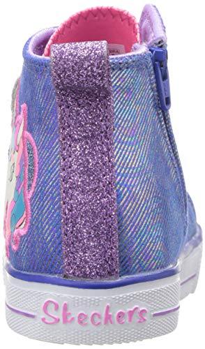 Pictures of Skechers Kids' Shuffle Lite-Unicorn Pals Sneaker 10995N 8
