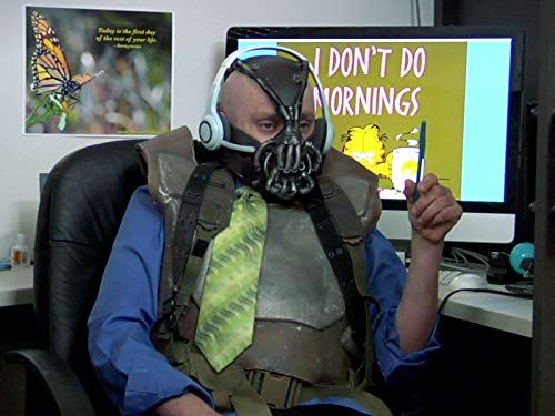 Bane the Telemarketer with Chris Kattan (Return Of Batman The Dark Knight Rises)