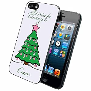 All I Want For Christmas is a Cure iPhone 4/4s Case Back Cover