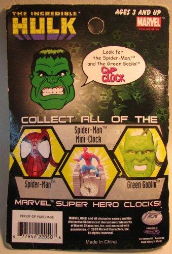 The Incredible Hulk Clip Clock (keychain/watch)