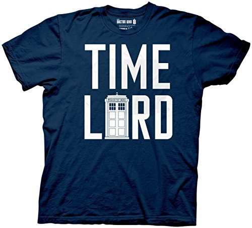 Ripple Junction Doctor Who Time Lord With Tardis Adult T-shirt