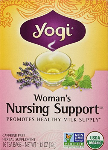 - Yogi Woman's Nursing Support Tea, 16 bags