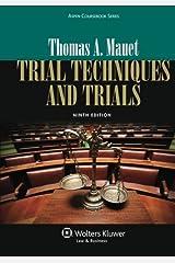 Trial Techniques, Ninth Edition (Aspen Coursebook) Paperback