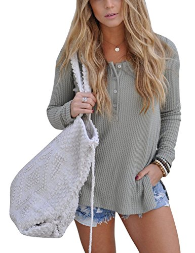 Walant Womens Casual Knitted T Shirts