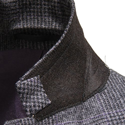Cupro Cotone Grigio Giacche Uomo Burnett Giacca Coats Men Jackets Grigia 3129m qXcw1IZO