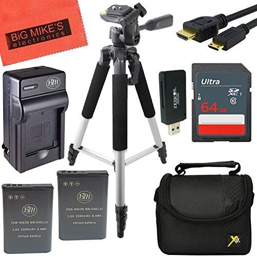 Pro Accessory Kit for Nikon Coolpix B700, P600, P610, S810c