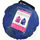 Kail Prince Play Tent Portable Folding Playhouse Blue star Castle Fairy Tale Child Kids House