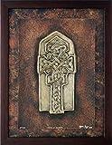 Cross at Donegal - Celtic Cross - Cast Paper - Celtic Blessing - Irish art - Celtic art - Scottish art - Irish gift - Ireland - wall art