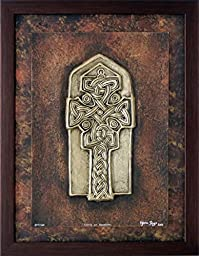 Cross at Donegal - Celtic Cross - Cast Paper - Celtic Blessing - Irish art - Celtic art - Scottish art - Irish gift - Ireland - wall art