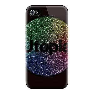 ANEXpxl3024yTxbJ Bernardrmop Utopia Durable Iphone 4/4s Tpu Flexible Soft Case