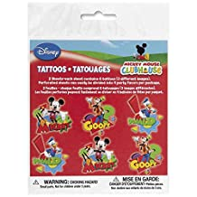 Mickey Mouse Clubhouse Tattoo Sheets [2 Sheets]