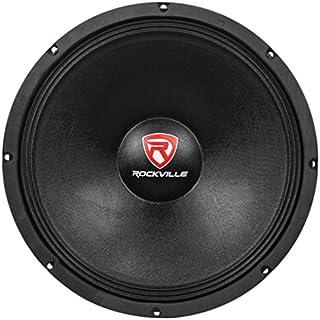 Sale Off Rockville RVW1500P8 1500w 15' Raw DJ Subwoofer 8 Ohm Sub Woofer 70OZ Magnet