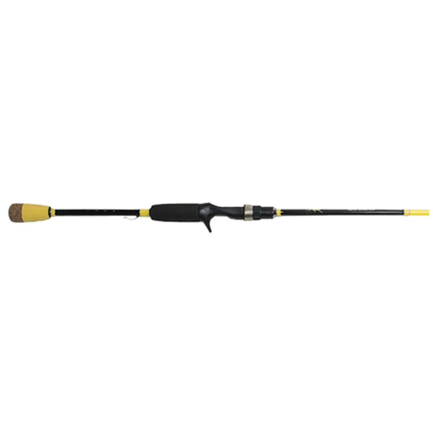 Wright McGill Skeet Reese Micro Honeycomb Spinner Bait Worm Rod Yellow, 7-Feet