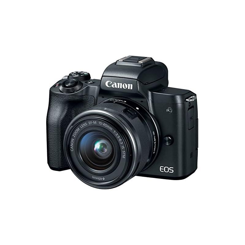 Canon EOS M50 Mirrorless Camera Body w/4