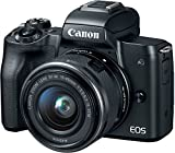Best Mirrorless Cameras - Canon EOS M50 Mirrorless Camera Kit w/ EF-M15-45mm Review