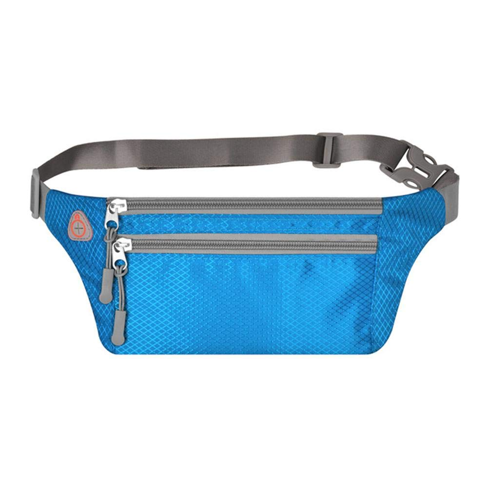 coresufuy KILLYSUFUY Oxford Cloth Invisible Personal Phone Pocket Belt Waist Pack Running Waist Pack