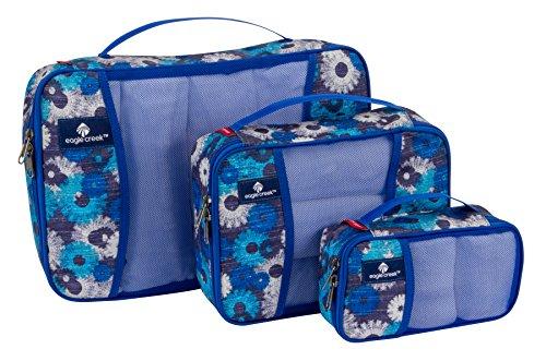 Eagle Creek Pack-It Cube Set, Daisy Chain Blue - Cube Chain