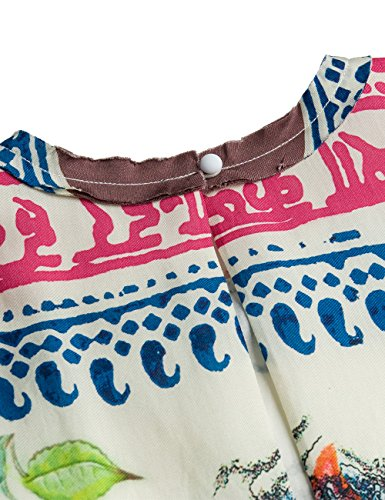 multicolour Para Vestido Mujer Replay Multicolor Print HfRwqCxwU