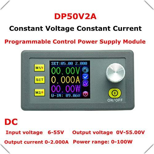 Current Regulators Constant - FidgetKute CN 0-50V 2A 100W Constant Current/Voltage Regulator Power Supply 5V 12V 24V 48V