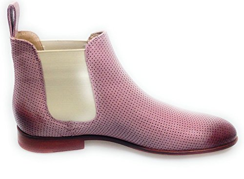 Chelsea Susan Damen MH SHOES HAND HAMILTON MADE Rose Boots 10 Pink MELVIN OF CLASS amp; BPq1SS